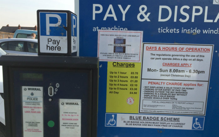Pay and display, which used to translate as 'stand and deliver!'