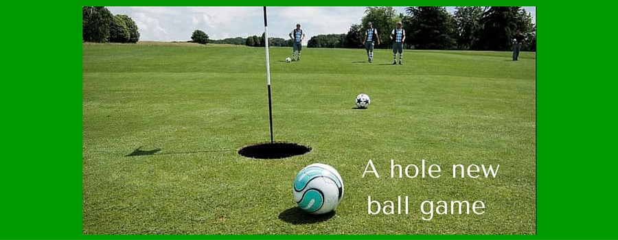 Back Fore! Footgolf comes to Arrowe Park!