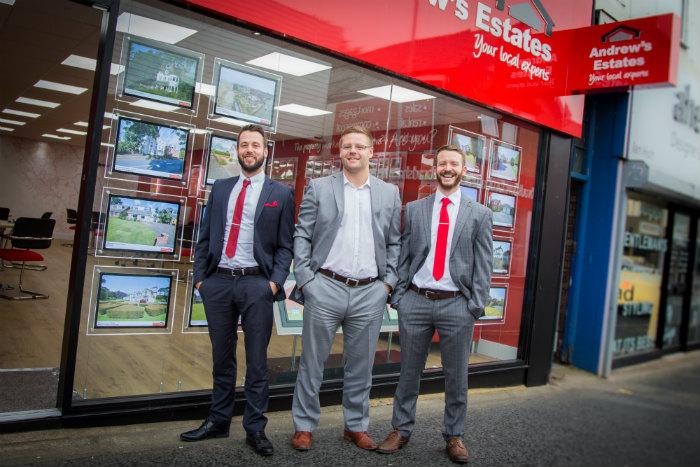 Ben Adams, Andrew Smith and Dan Hewitt