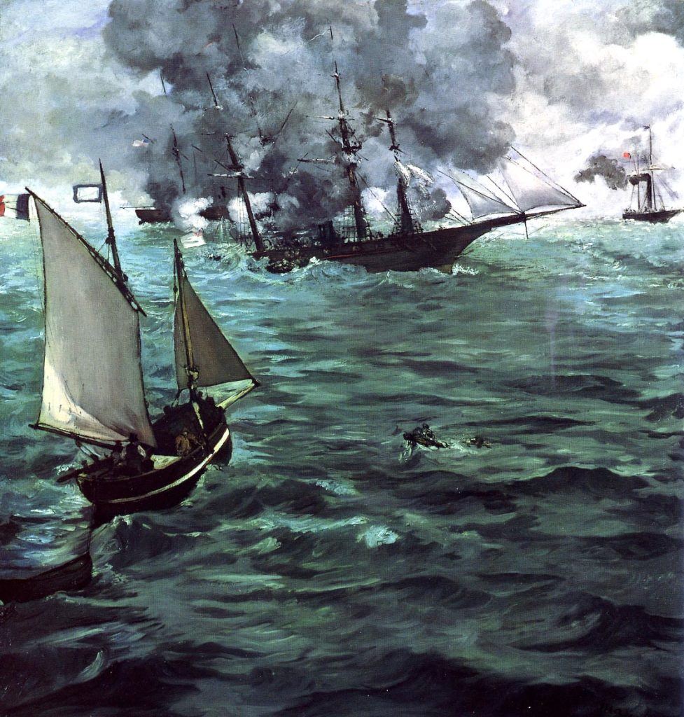 The Battle of the Kearsarge and Alabama 150 MANET
