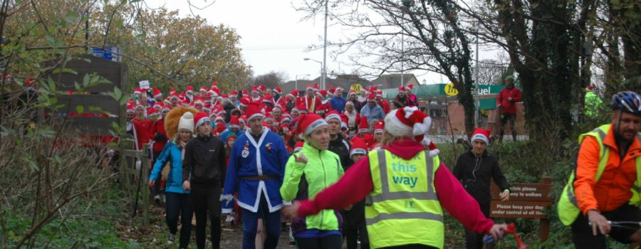 Born to run? Get your tickets NOW for the West Kirby Santa Dash