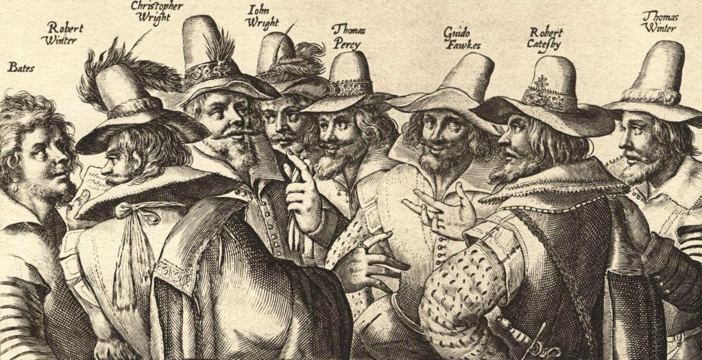 The Gunpowder Treason and plot