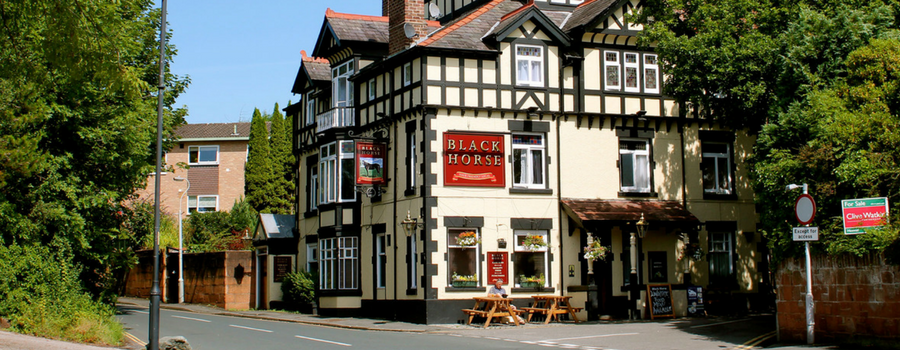 The Black Horse in Lower Heswall is back in the race