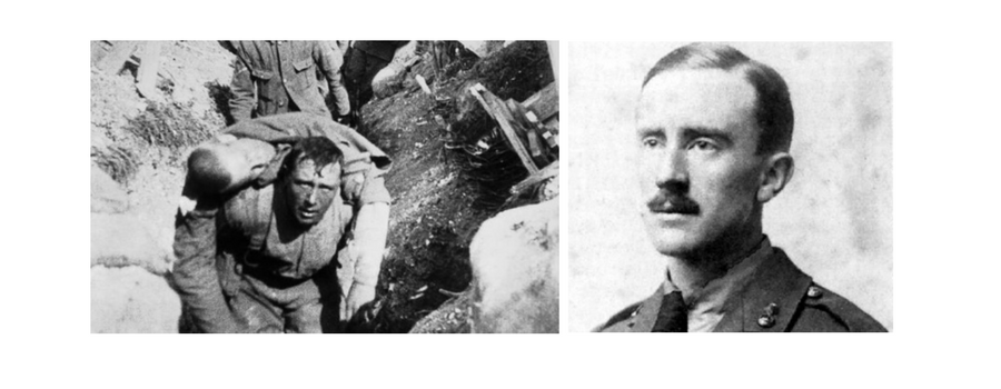 How J R R Tolkien remembered the Somme