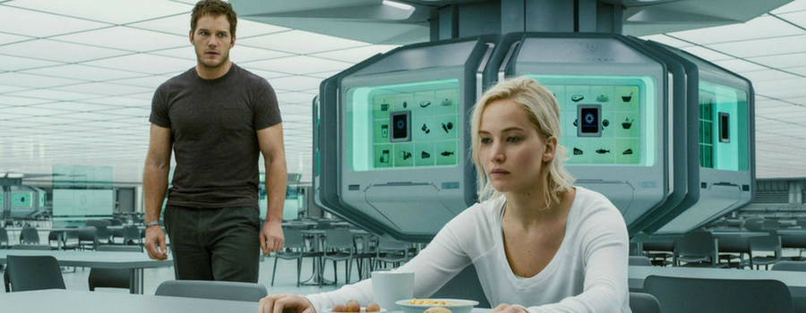 Movie Review: Passengers, certificate 12A