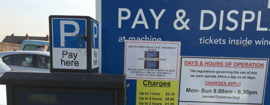 Parking charges – take your chance to say and display
