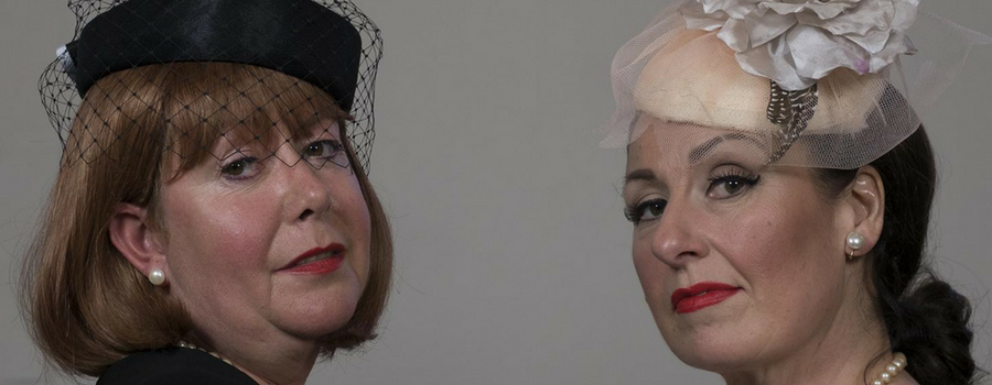 Going nuts in May – Neston Players present 'Bette and Joan'