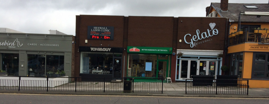 Papa John's pizza prepares to open on Heswall's Telegraph Road
