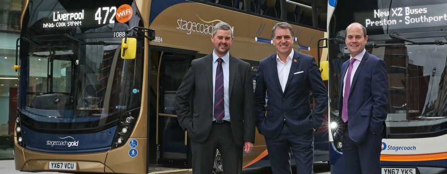 On the (Gold) buses – Stagecoach upgrades 471 and 472 vehicles