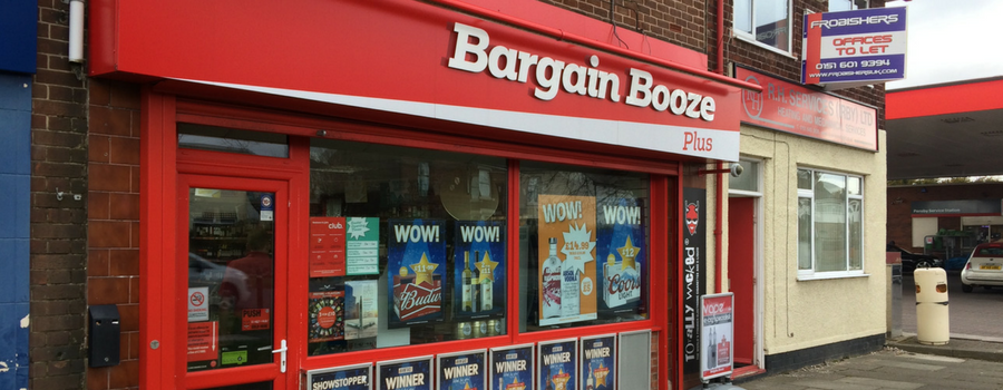 Bargain Booze collapses but local branches may survive