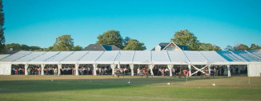 The excitement was in tent(s) – Neston Cricket Club stages another successful Marquee Week