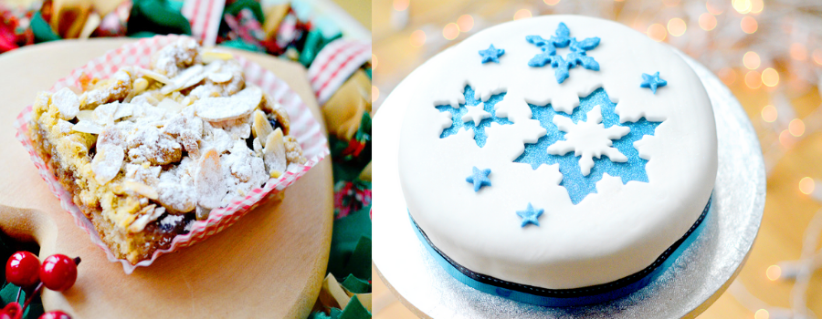Why not follow GBBO Yasmin's Inspired Christmas cake recipe?