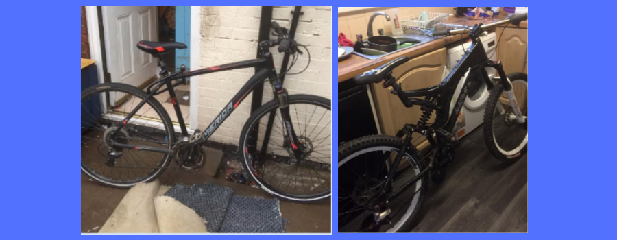 Do these suspected stolen mountain bikes belong to you?