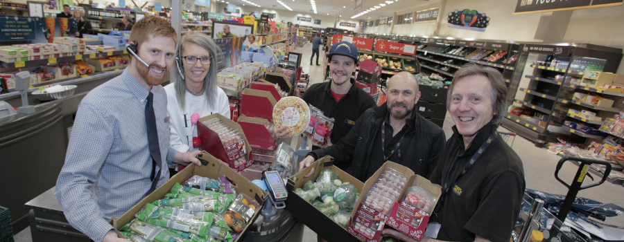 Heswall Aldi in surplus food partnership with local charities